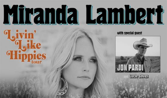 Miranda Lambert, Jon Pardi & Lucie Silvas at Save Mart Center