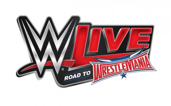 WWE: Live - Road To Wrestlemania at Save Mart Center