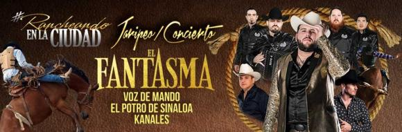 El Fantasma, Voz De Mando & El Potro De Sinaloa at Save Mart Center