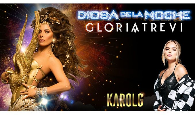 Gloria Trevi & Karol G at Save Mart Center