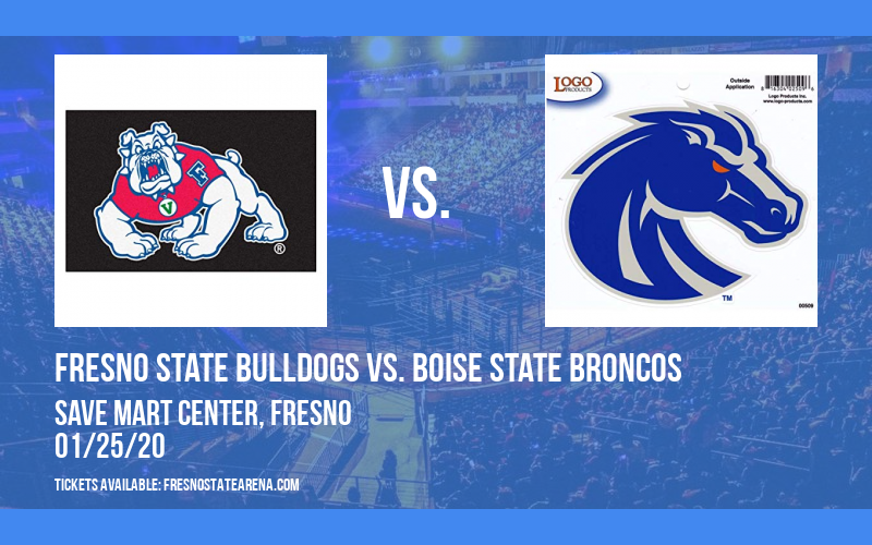 Fresno State Bulldogs vs. Boise State Broncos at Save Mart Center
