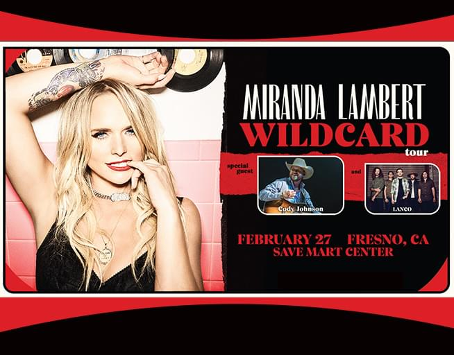 Miranda Lambert, Cody Johnson & Lanco at Save Mart Center