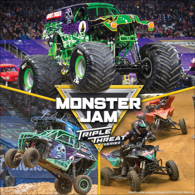 Monster Jam Triple Threat Series at Save Mart Center
