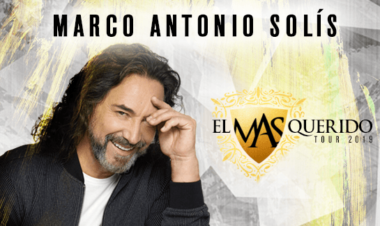 Marco Antonio Solis at Save Mart Center