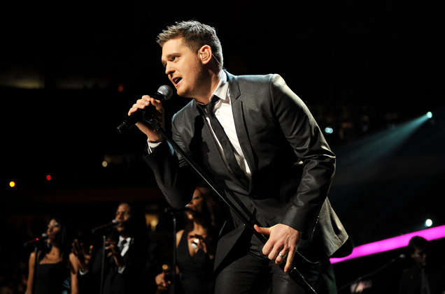 Michael Buble at Save Mart Center