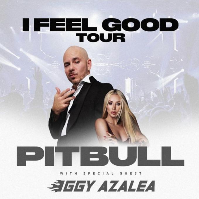 Pitbull & Iggy Azalea at Save Mart Center