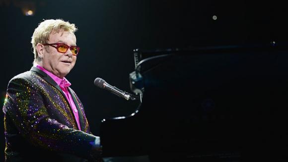 Elton John at Save Mart Center