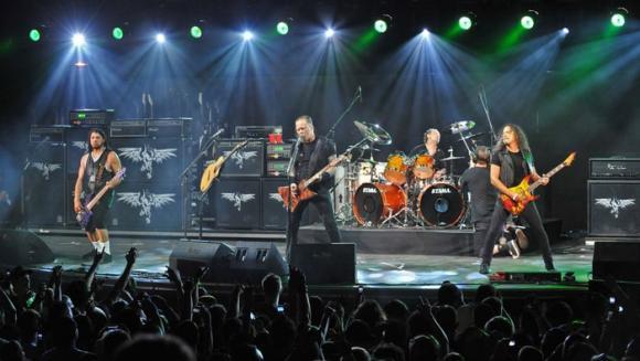 Metallica at Save Mart Center