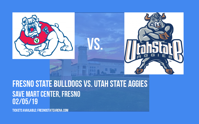 Fresno State Bulldogs vs. Utah State Aggies at Save Mart Center
